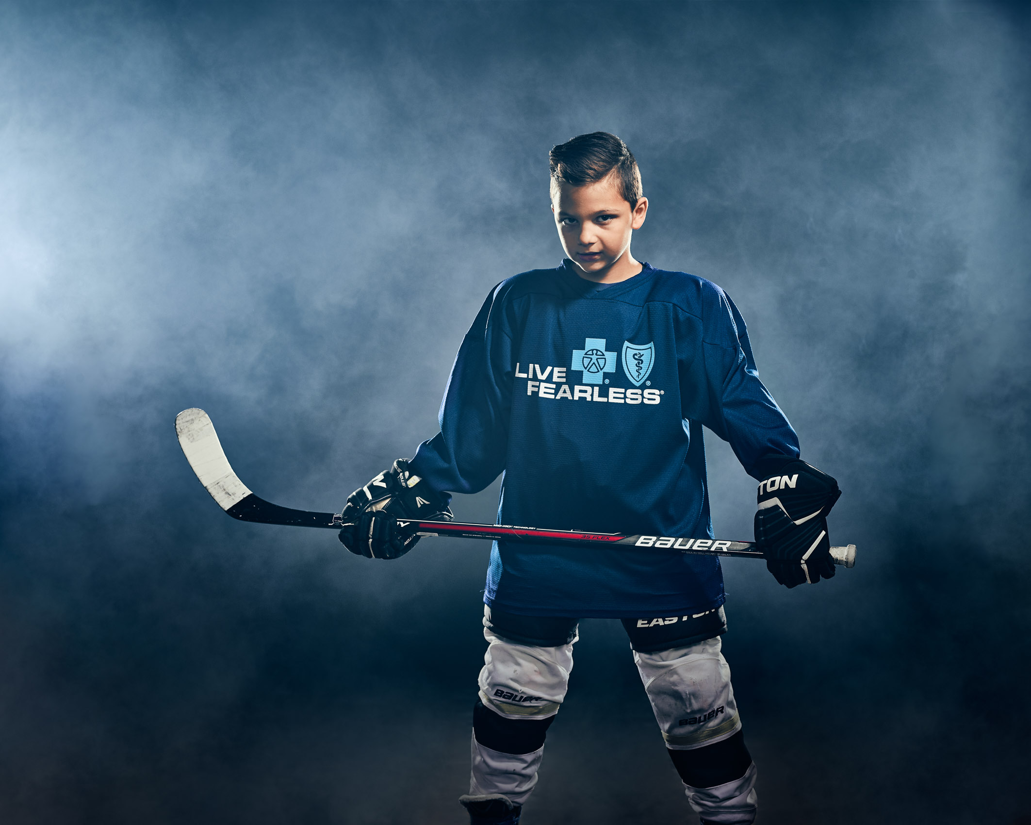 LIVE FEARLESS  — YOUTH HOCKEY PLAYER FOR BCBS WESTERN NEW YORK