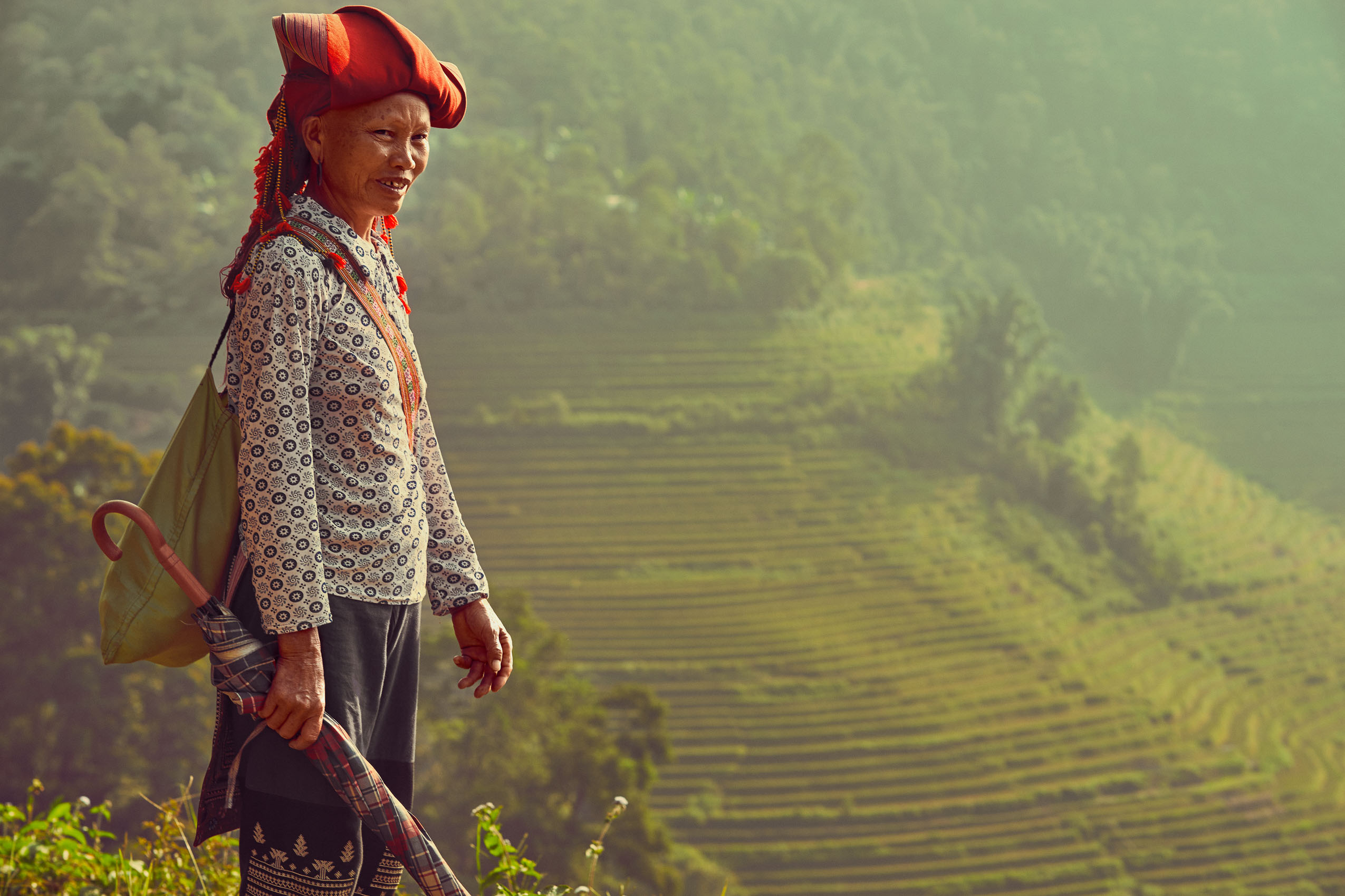 HIKING WITH RED DAO - SAPA VALLEY